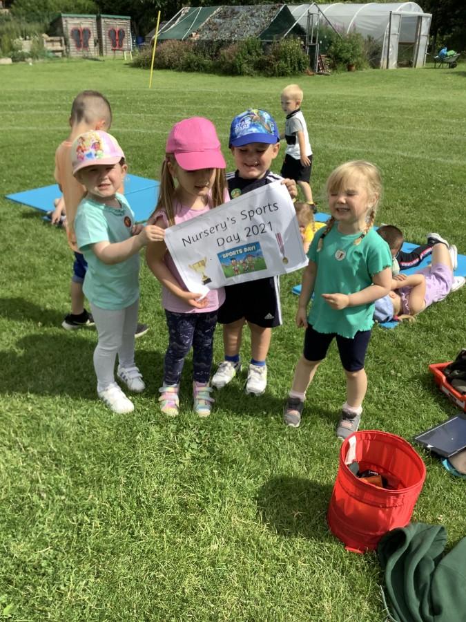 Sports Week in Nursery